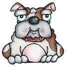 Bulldog by Maria Bell