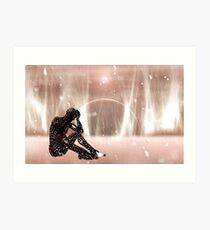 Shadow of a dying world Art Print