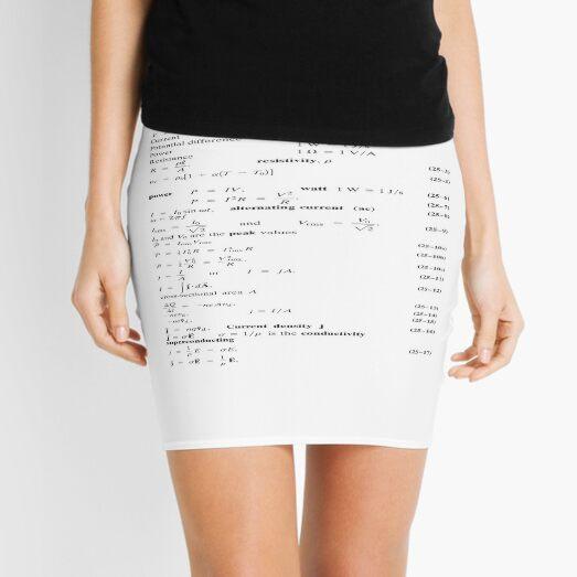 Physics Физика #Physics #Физика Mini Skirt