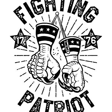 Political Sparring Eagle Mitts by bsanczel
