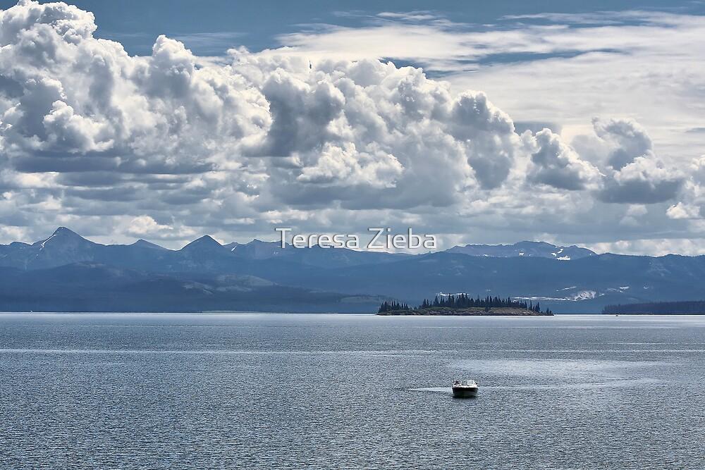 Jenny Lake Blues by Teresa Zieba