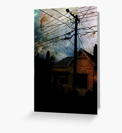 Home Invasion Greeting Card