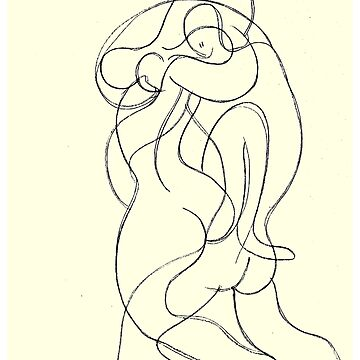 THE LOVERS : Vintage 1946 Picasso Surreal Print by posterbobs