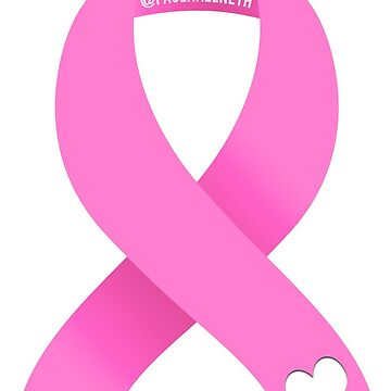 Breast Cancer Awareness - Ribbon with Heart by PaolaAzeneth