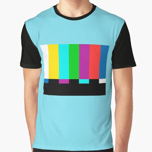 Color bars tv Graphic T-Shirt