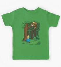 My Neighbor in Wonderland (Kelly Green) Kids Tee