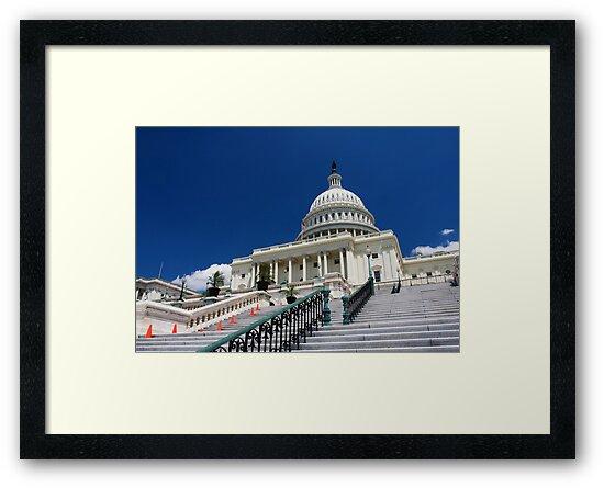 U. S. Capitol Building by kathy s gillentine