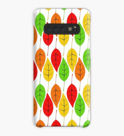 Cascading Autumn Leaves Case/Skin for Samsung Galaxy