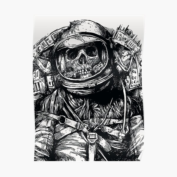 Dead Astronaut Poster