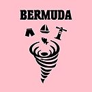 Bermuda Hurricane Throwing Icons from Top Light-Color by TinyStarAmerica