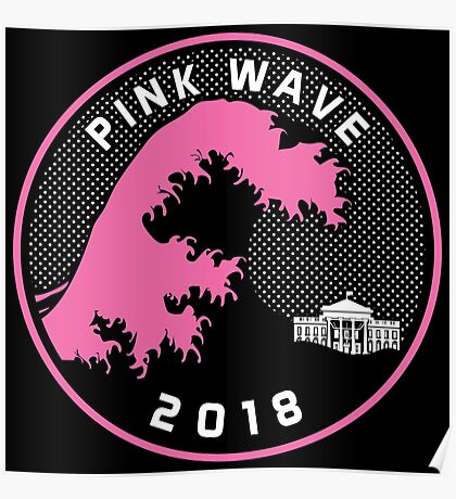 Pink Wave 2018 T-shirts Poster