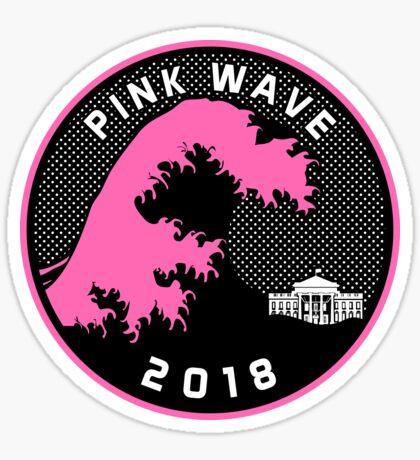Pink Wave 2018 T-shirts Sticker