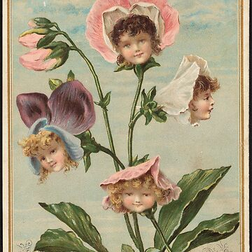Victorian Flower Children  by forgottenbeauty