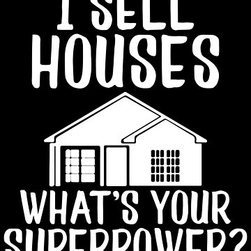 Cute Real Estate Agent House Broker Funny Home Realtor Gift by LoveAndSerenity
