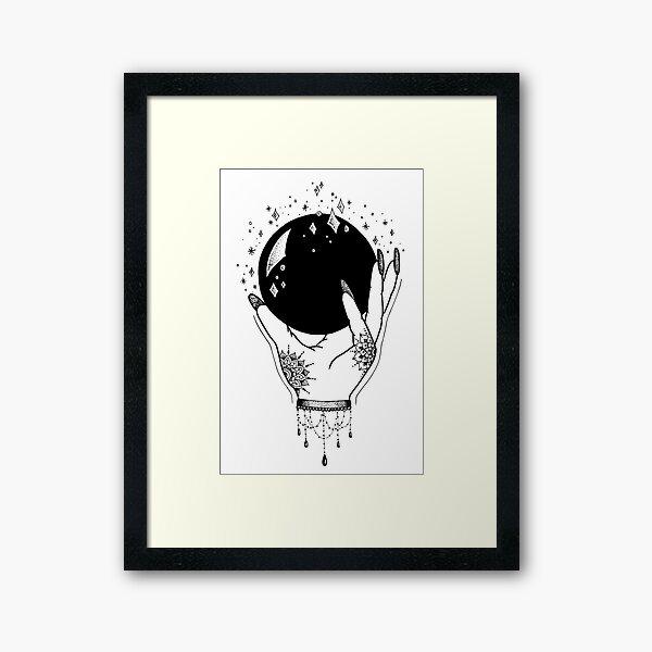Crystal Ball Framed Art Print