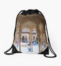 Details at the Alhambra Drawstring Bag