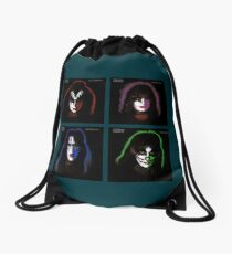 Kiss Four By Four Solo Drawstring Bag