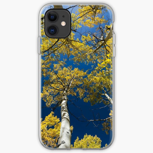 Looking Up for Fall iPhone Soft Case