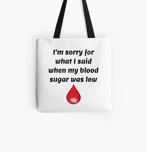 Blood Magic Type One Club type 1 diabetes empowerment cotton canvas tote