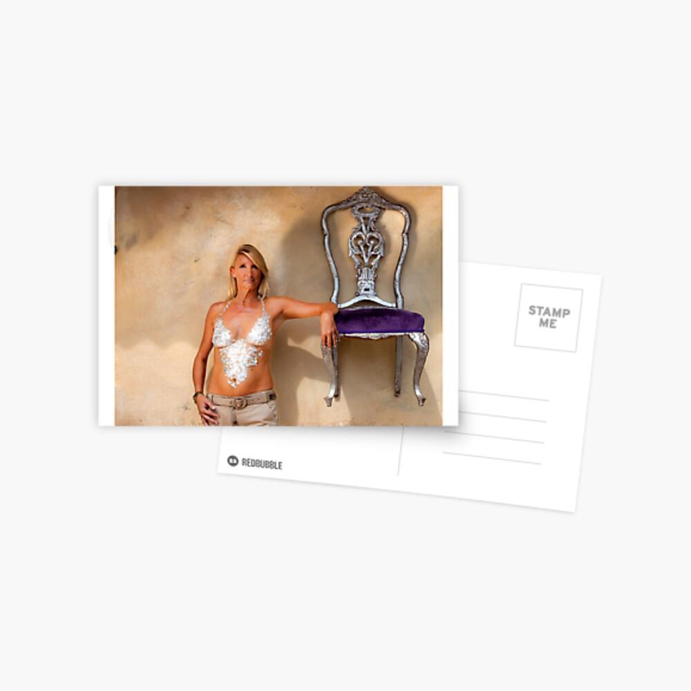 """Armrest"" - Nickie from EFXS  Postcard"