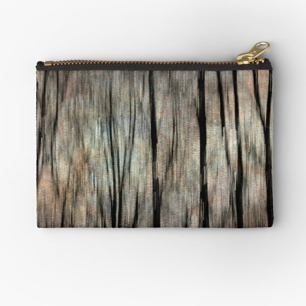 Abstract Photography - Winter Trees Zipper Pouch