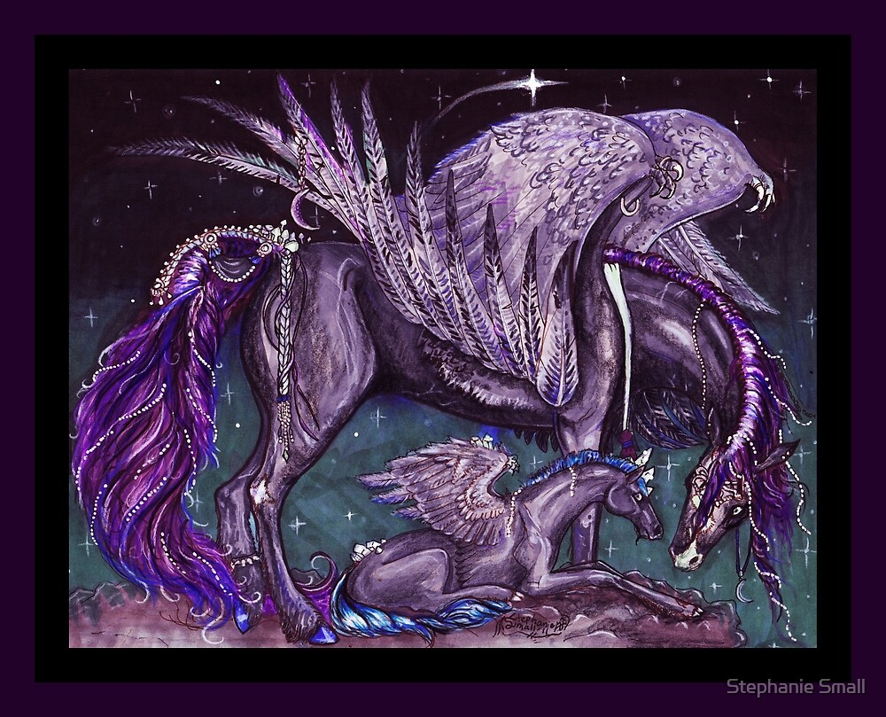 Horse star pony equine equestrian equus equine horses by Stephanie Small