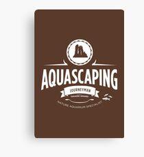 Aquascaping - Journeyman Canvas Print