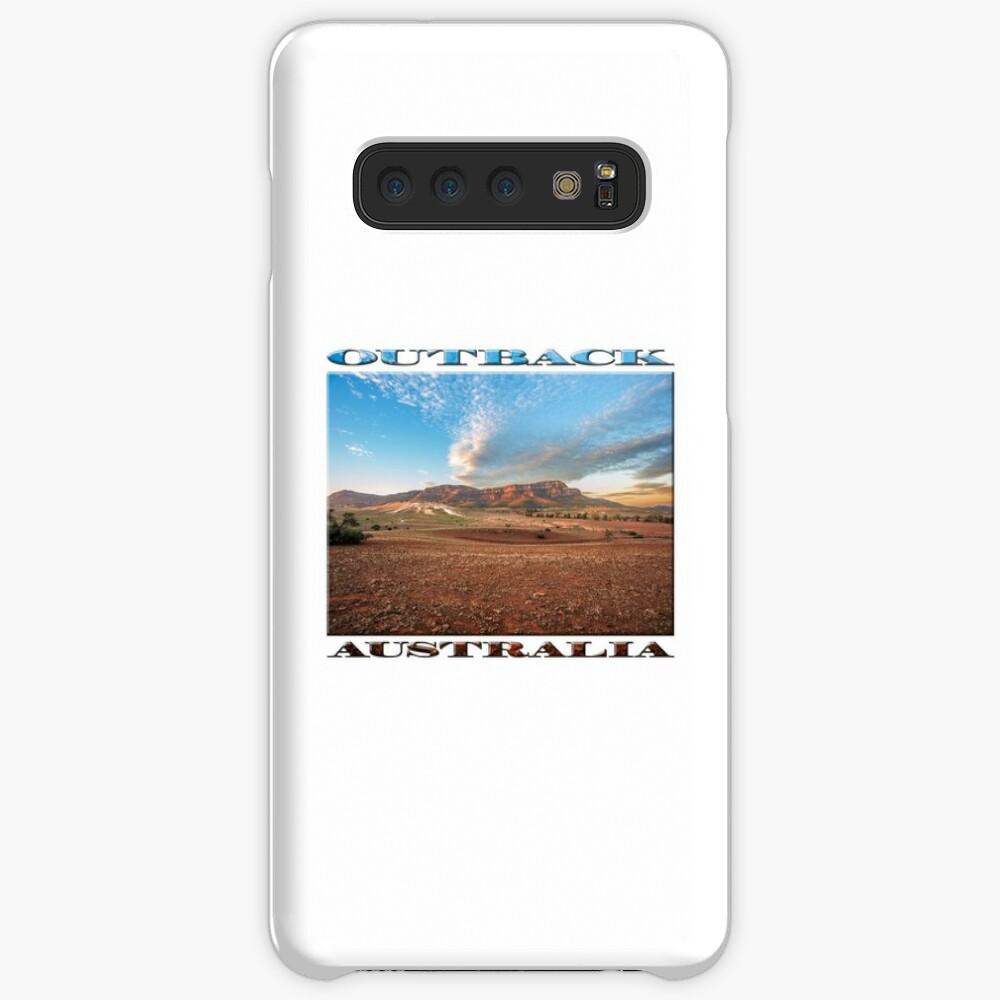 Rawnsley Bluff II (poster on white) Case & Skin for Samsung Galaxy