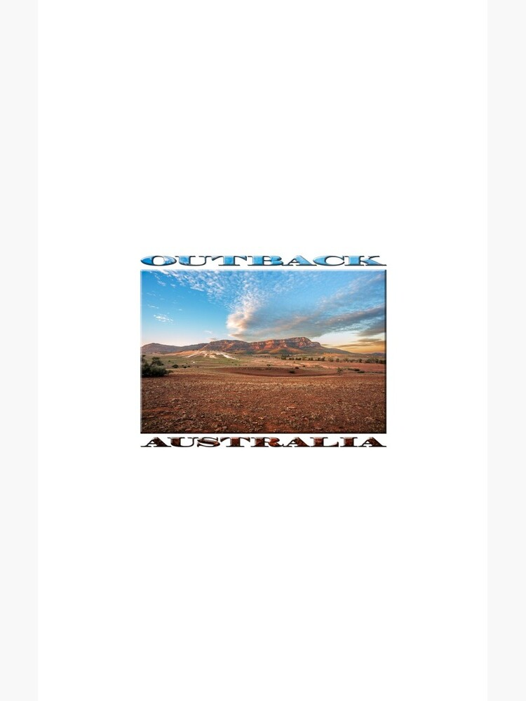Rawnsley Bluff II (poster on white) by RayW