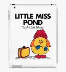 Little Miss Pond iPad Case/Skin