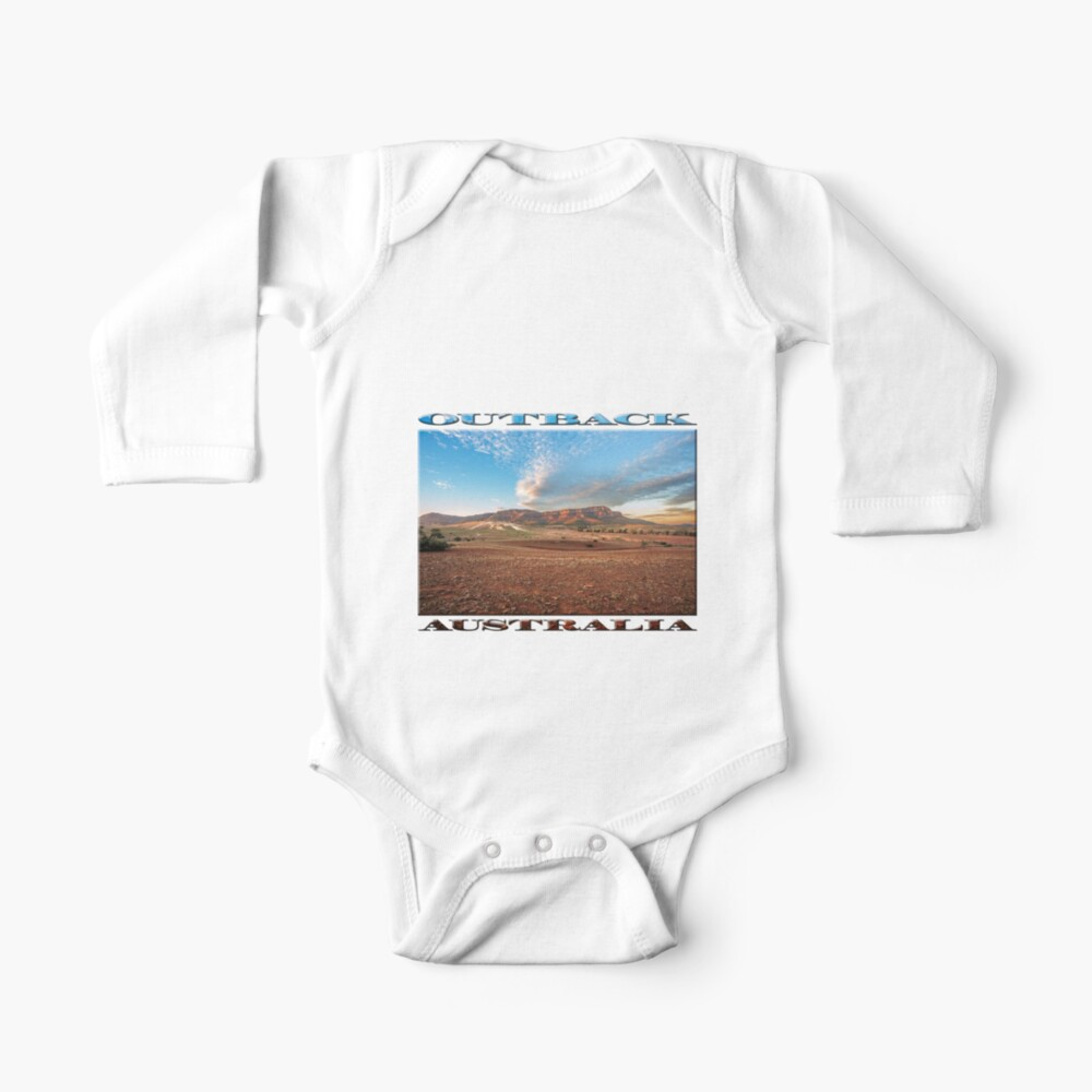 Rawnsley Bluff II (poster on white) Baby One-Piece