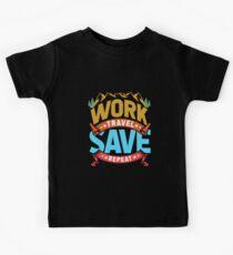 Verreisen Weltenbummler Kinder T-Shirt