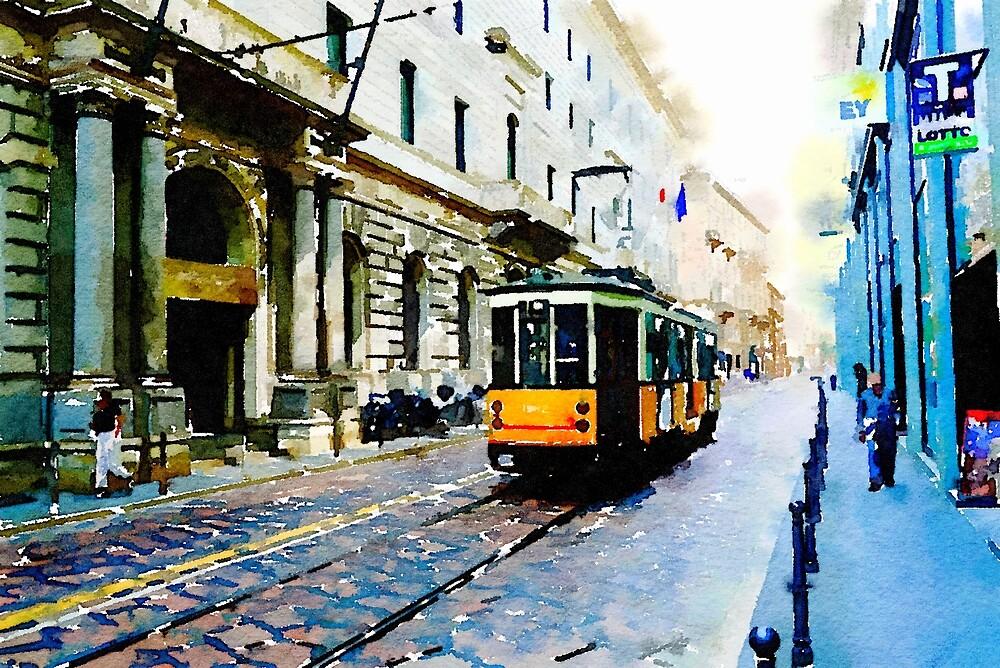Memories of Milan by Douglas E.  Welch
