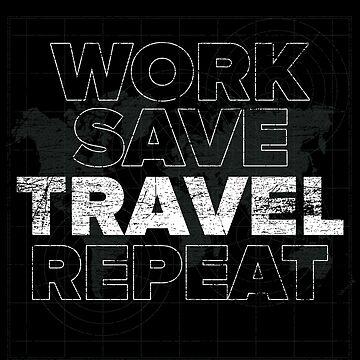 Work and Travel World by GeschenkIdee