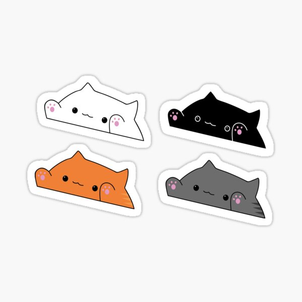 Bongo Cats! Sticker