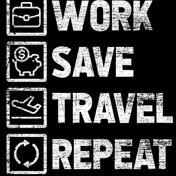Work and Travel by GeschenkIdee