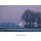 winter morning  (card) by Erwin G. Kotzab