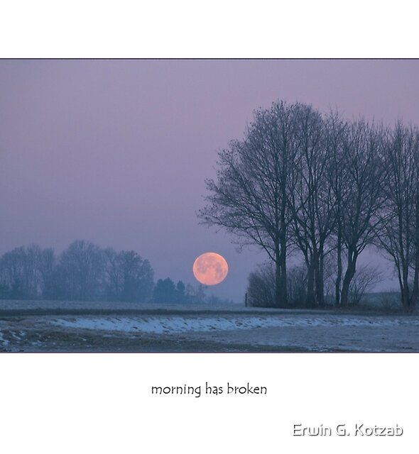 winter morning  (card) by Erwin G. Kotzab