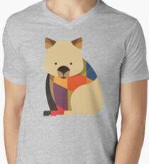 Hello Wombat Men's V-Neck T-Shirt