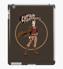 Captain Tightpants iPad Case/Skin