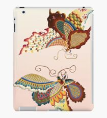 Embroidery illustration Butterfly - Chinese style iPad Case/Skin