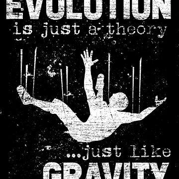 Evolution gravity by GeschenkIdee