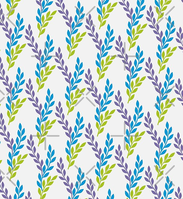 Delicate Leaves  Pattern by mitalim