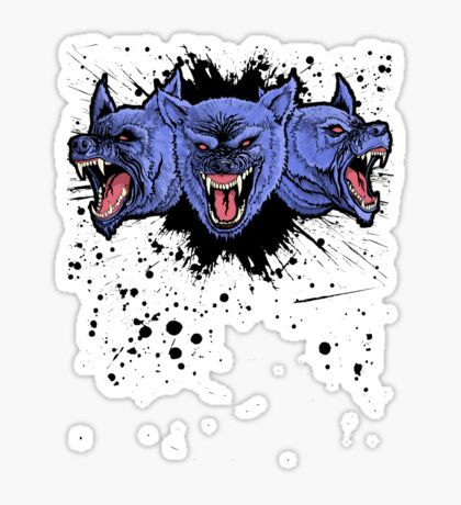 Cerberus Sticker