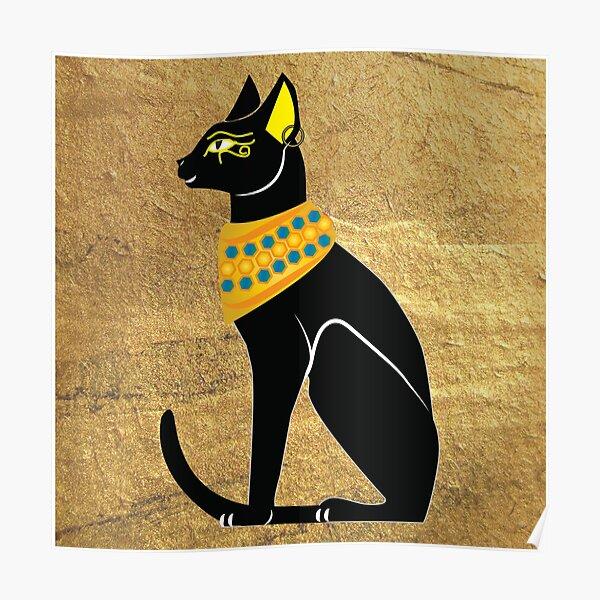 Egyptian Cat Poster