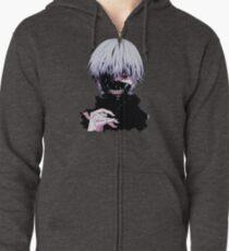 Sudadera con capucha y cremallera Tokyo Ghoul 46