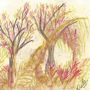 Australian Bush Garden in Spring by Doodles68