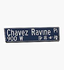 Chavez Ravine Photographic Print