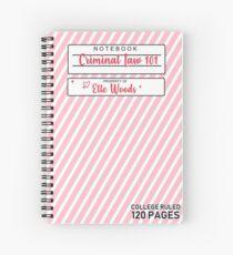 Cuaderno de espiral Legalmente rubia Elle Woods notebook
