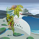 « Le Bestiaire Ahuri : Le Kelpie » par Valériane Duvivier